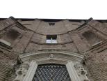 Borromini's curvy facade of Sta Maria dei sette dolori