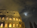 Colosseum on fire: Hilden and Diaz's video projection