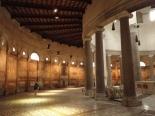 panels along the walls of St Stefano Rotondo on the Celio