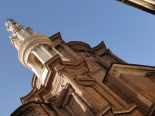 Borromini's bell tower at St Andrea delle Fratte
