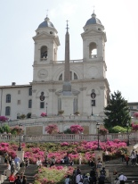 Piazza di Spagna in May