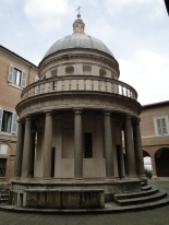 Bramante's Tempietto at San Pietro in Montorio