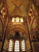 Inside decoration of San Vitale
