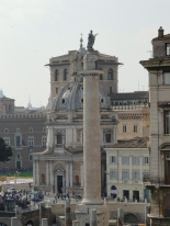Trajan's column in the Forum