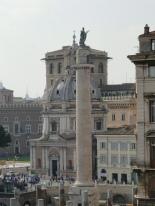 Trajan's column in the Forum