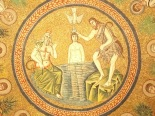 Baptism of Christ and the Holy Trinity in the Arian Baptistry
