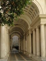 Borromini's prospective in Palazzo Spada