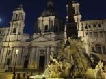 Piazza Navona at dawn